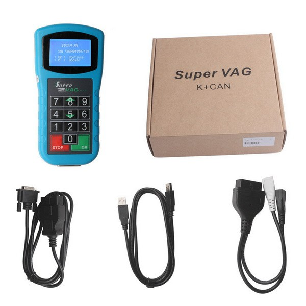 Original Xhorse Super V-A-G K+CAN Plus 2.0 with Powerful Functions Free DHL shipping