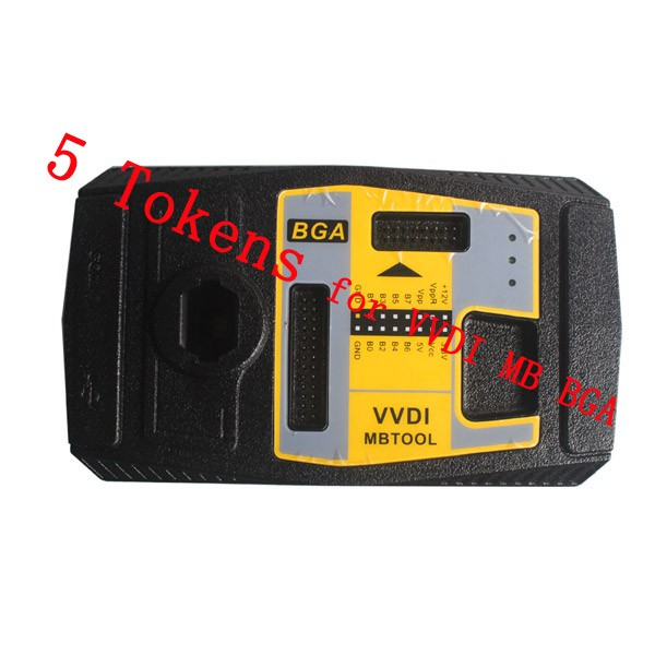 5 Tokens for VVDI MB BGA Tool Password Calculation