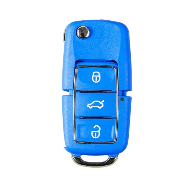 10pcs XHORSE VVDI2 Volkswagen B5 Special Remote Key 3 Buttons(Black, Red, Yellow, Blue and Green)