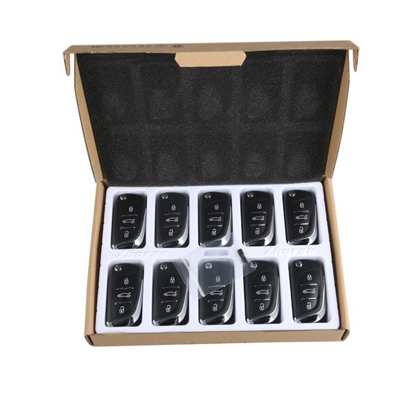 XHORSE X002 Volkswagen DS Style Remote Key 3 Buttons for VVDI Mini Key Tool 5pcs/lot