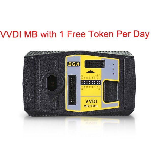 Original Xhorse VVDI MB BGA Tool with 1 Free Token Per Day (Pls offer the serial number of mini condor)