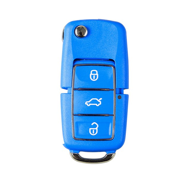 Xhorse Volkswagen B5 Style Remote Key 3 Buttons for VVDI Mini Key Tool English version 5pcs/lot (Black, Red, Yellow, Blue and Green)