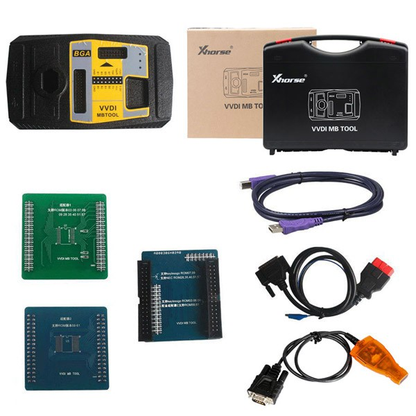 Value Bundle Xhorse CONDOR XC-002 Plus VVDI MB with 1 free token everyday forever and 1 year unlimited tokens