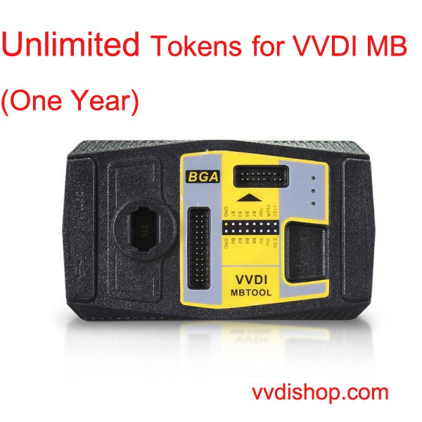Unlimited Tokens for VVDI MB Password Calculation (One Year)