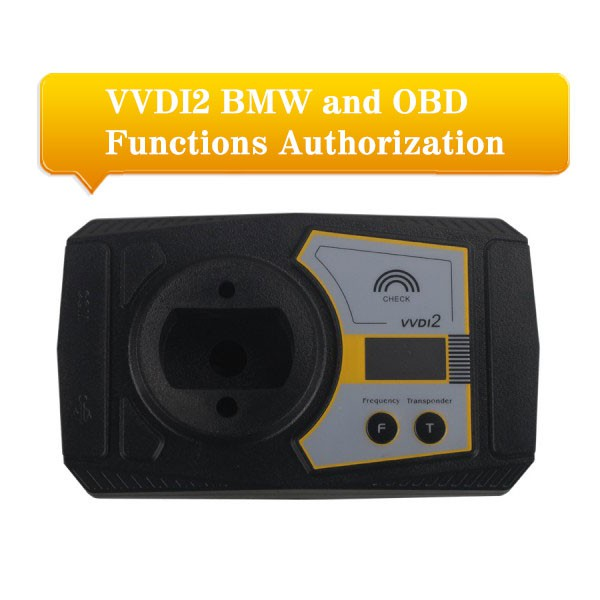 Xhorse VVDI2 BMW and OBD Authorization Service