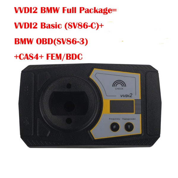 Xhorse VVDI2 BMW Full Package Version VVDI2 Basic + BMW OBD + CAS4 + FEM/BDC Authorization