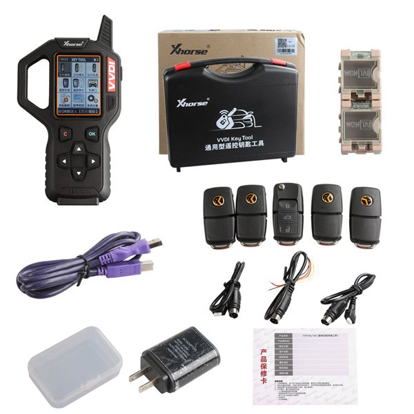 V3.2.3 Xhorse VVDI Key Tool EU Version Remote Generator Add European cars Support English Spanish French Turkish (Ship from US/UK)