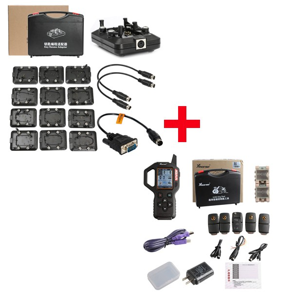 Xhorse VVDI Key Tool Remote Generator Plus Renew Adapters Set 12pcs