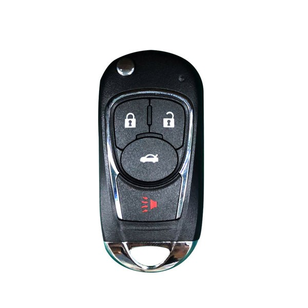 Xhorse VVDI Key Tool VVDI2 Wire Flip Remote Key 3+1 Button XKBU02EN Buick Type
