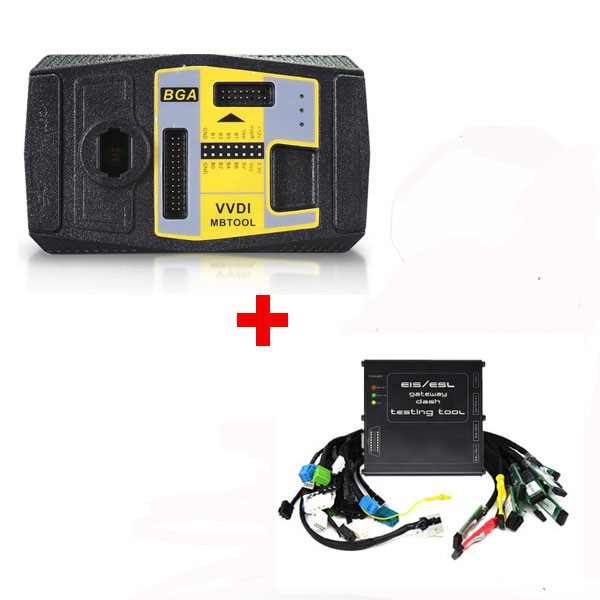 Original Xhorse VVDI MB BGA Tool plus Benz EZS EIS ELV ESL Dash Gateway Full Testing Device