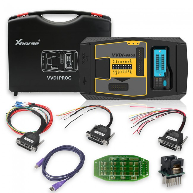 [US/UK/EU/RU/CZ Ship] V4.9.8 Original Xhorse VVDI PROG VVDI-Prog ECU Programmer Frequently Free Update