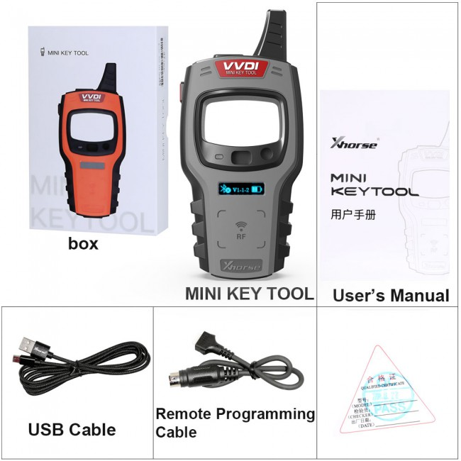 (Ship from UK/US) Xhorse VVDI Mini Key Tool Global Version Free Shipping [Send Renew Cable+ Any 2 Wired Remotes]
