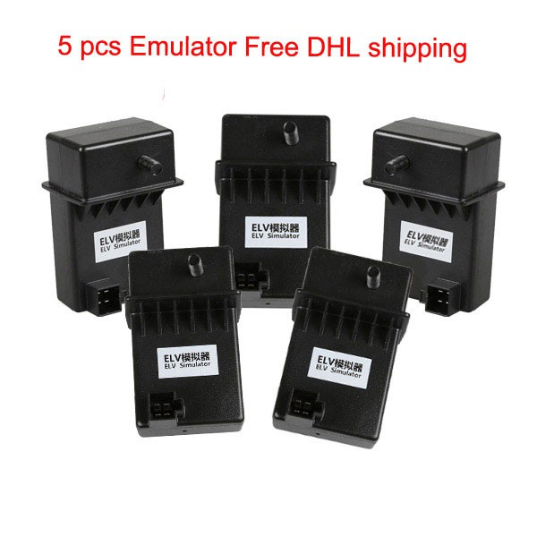 5pcs XHORSE ESL Emulator/ELV Emulator for Benz 204 207 212 with VVDI MB tool Free DHL Shipping (Support Ship From Russia/UK)