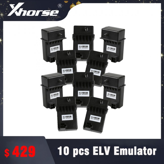 10pcs XHORSE ESL/ELV Emulator for Benz 204 207 212 with VVDI MB tool Free DHL Shipping (Support Ship From Russia/UK)
