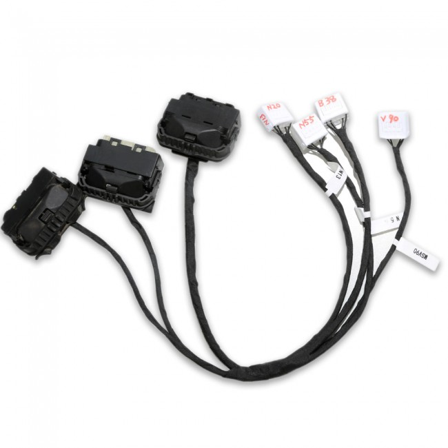 VVDI PROG BMW ISN DME Clone Cable with Dedicated Adapters B38 N13 N20 N52 N55 MSV90