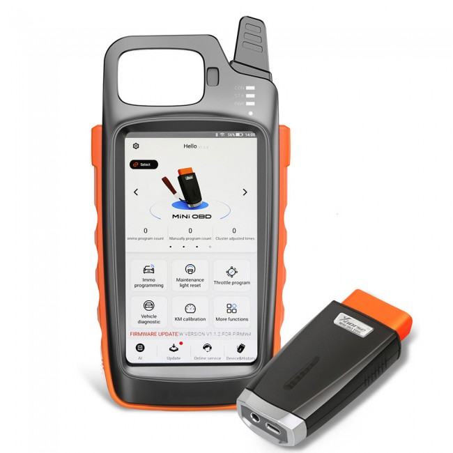 Bluetooth Xhorse VVDI Key Tool Max with VVDI MINI OBD Tool Send Renew Cable (UK/US/RU Ship)