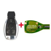 Hot Xhorse VVDI BE Key Pro Plus Mercedes Benz Smart Key Shell 3 Button Complete Key Package