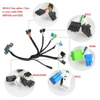 (Ship from UK) Benz EIS ELV Test cables 5-in-1 Works Together with VVDI MB TOOL