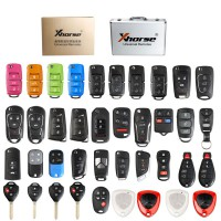 Xhorse XKRSB1EN Universal Remote Keys English Version Packages 39 Pieces for VVDI2 or VVDI Mini Key Tool Free DHL shipping