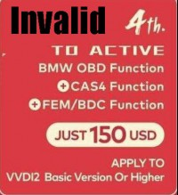 Xhorse VVDI2 BMW OBD+ CAS4+FEM/BDC function Promorion (For VVDI2 Basic Version)