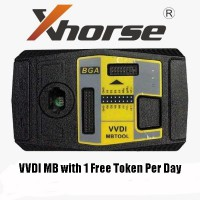 Sale! Original Xhorse VVDI MB BGA Tool with 1 Free Token Per Day (Pls offer the serial number of mini condor)