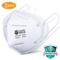 KN95 Masks with 2 pcs Filter Paper-Protection Mouth mask-Sealed Bag-Protective Face Mask Dust Filter Mouth Cove