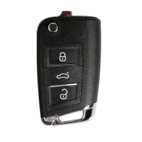 XHORSE XEMQB1EN MQB Style 3 Buttons Super Remote Key with Built-in Super Chip English Version