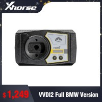 Xhorse VVDI2 Full BMW Version (Basic +BMW OBD+BMW CAS4+FEM+Porsche)