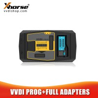 Xhorse VVDI Prog Programmer with Full Adapters Free Update Support Multi-Languages