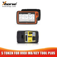 5 Tokens for VVDI MB BGA Tool VVDI Key Tool Plus Password Calculation