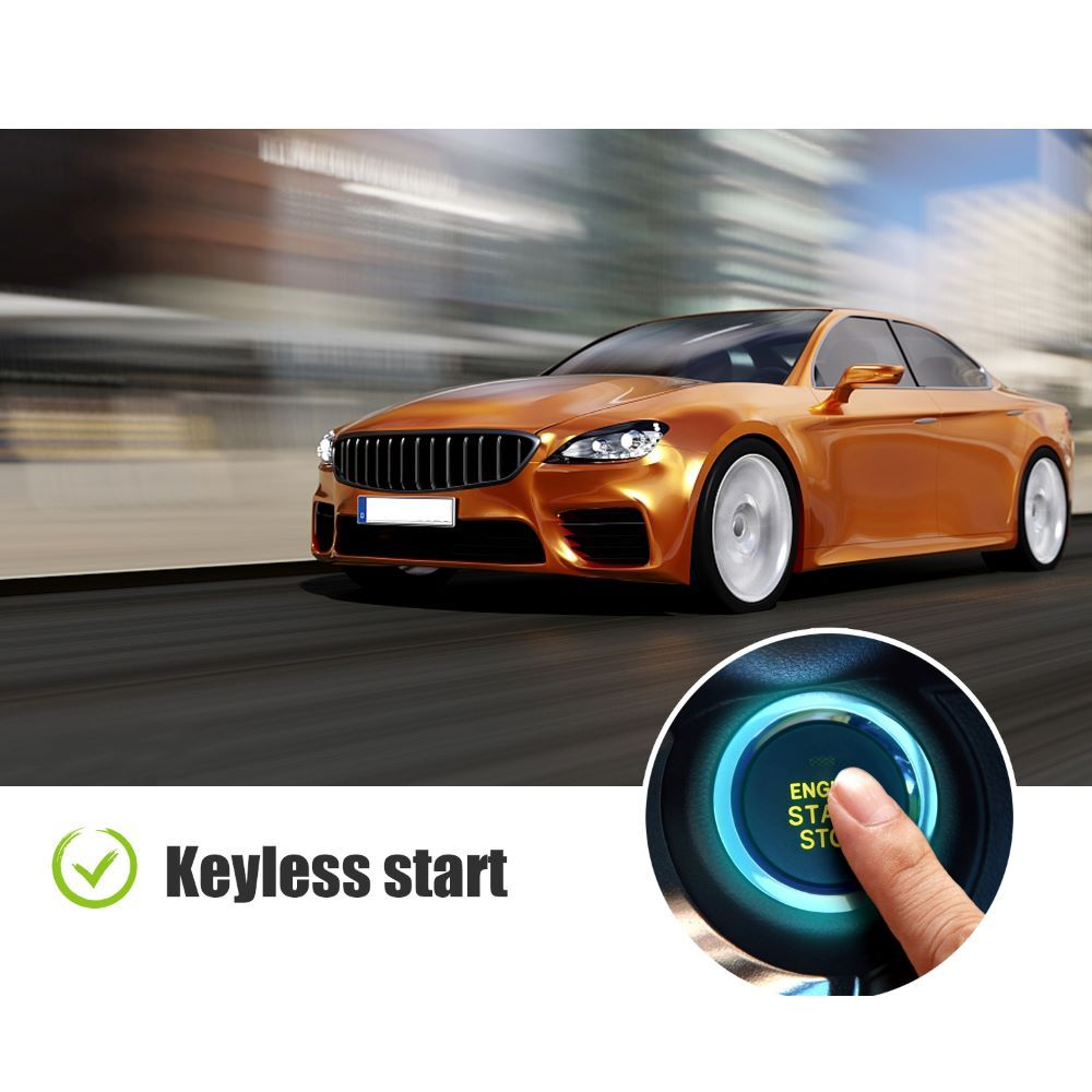 Xhorse 4 Buttons Colorful Crystal Style Smart Key XSCS00EN with Proximity Function 1 pc