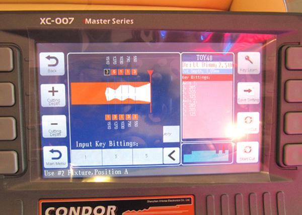 ikeycutter-condor-xc-007-master-series-1