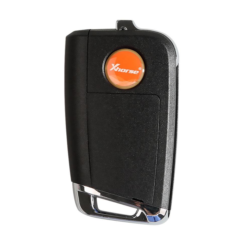 Xhorse VW MQB XKMQB1EN Flip Transponder Key 3 Buttons