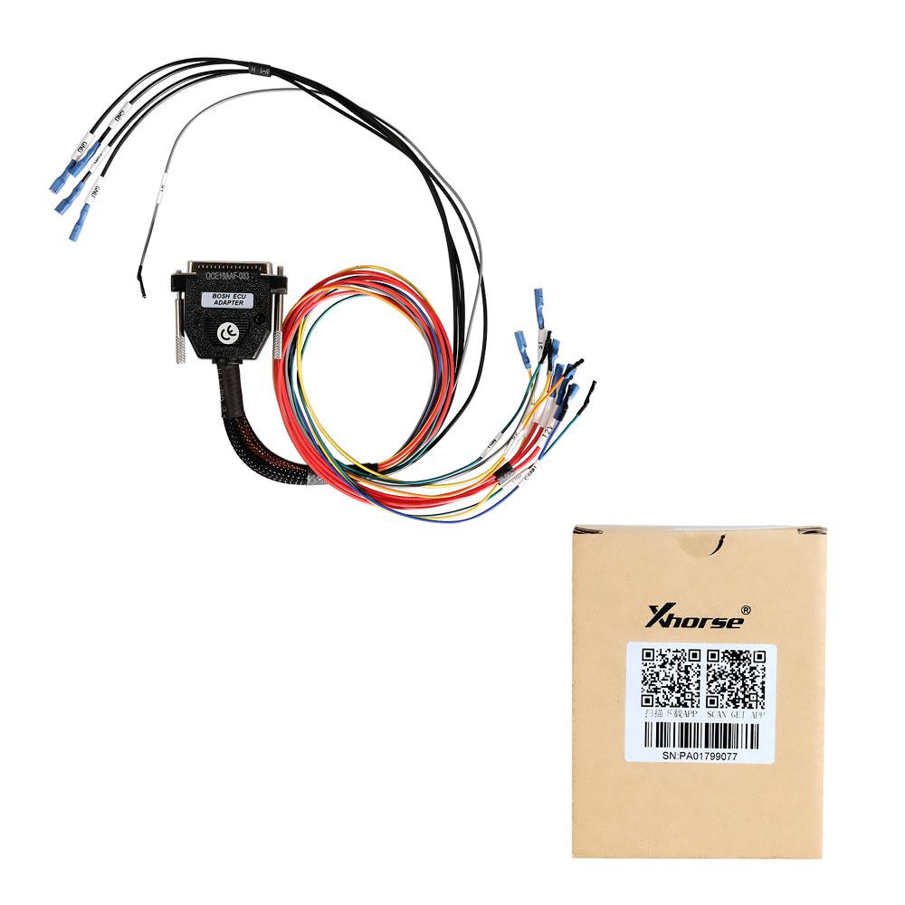 Xhorse VVDI Prog Bosch Adapter Read BM ECU N20 N55 B38 ISN without Opening