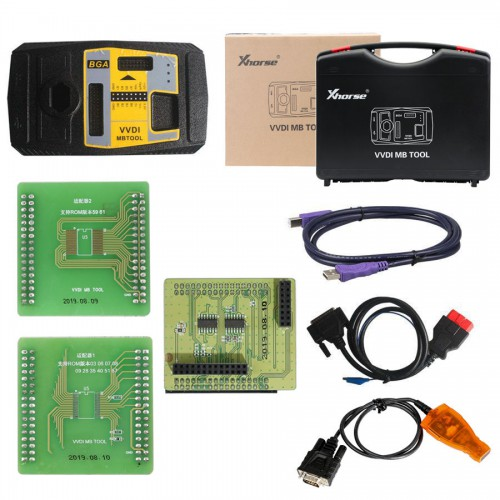 (Black Friday Sale)Value bundle Xhorse Condor XC-Mini Plus and VVDI MB BGA tool 1 free token everyday forever and 1 year unlimited tokens(UK Ship)