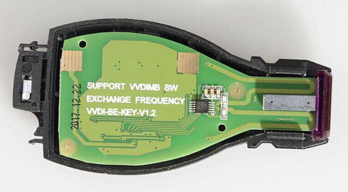 assemble benz key shell with vvdi be key pro 1