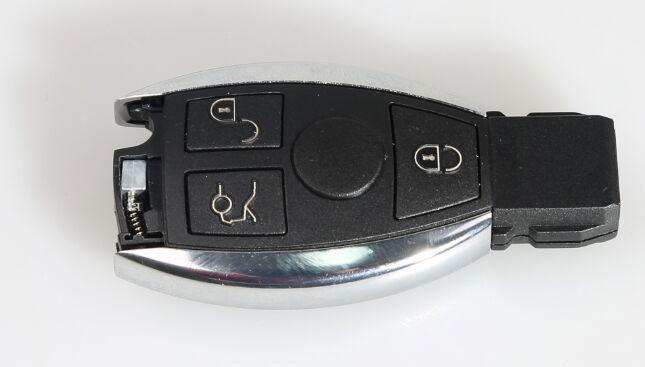 assemble benz key shell with vvdi be key pro 4