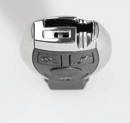 assemble benz key shell with vvdi be key pro 5