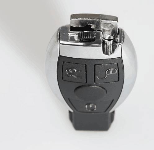 assemble benz key shell with vvdi be key pro 6